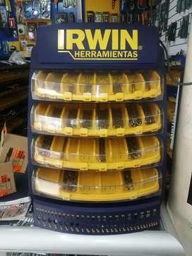 Exhibidor de brocas IRWIN