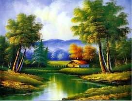 Pintura artististicas, pinturas sobre