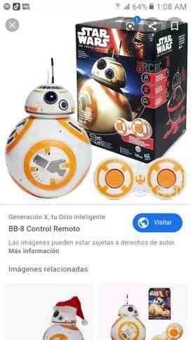 STAR WARS Coleccion BB8 a Control Remoto