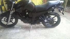 Moto axxo sz200 color negra