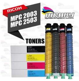 Toner para Ricoh - Mpc 2003 / 2503
