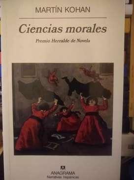 Ciencias morales de Martín Kohan