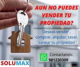 Servicios inmobiliarios SOLUMAX