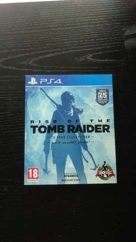 Rise of The Tomb Raider special edition PS4 FISICO USADO