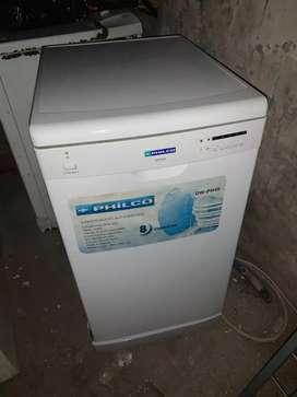 Lavavajillas Philco sin uso