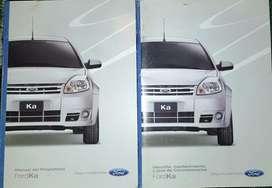 Vendo Manuales de Ford Ka Mod 2011 hora