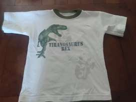 Remera Gimmos Tiranosaurio Rex t.2