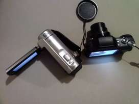 Lote de cámara de vídeo y cámara digital