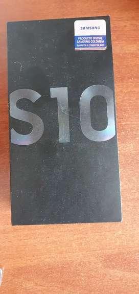Samsung galaxy s10 con caja y factura