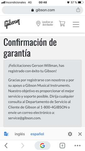 Gibson Made In Usa - Tribute 2019