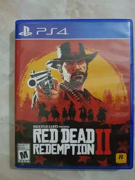 Vendo juego red dead redemption 2