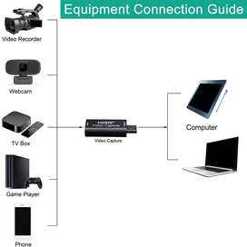 CAPTURADORA DE VIDEO PRO FULL HD ENTRADA HDMI