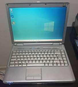 Portátil Dell Inspiron 1420- Memoria Ram 3GB - Disco Duro 80GB
