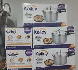 Olla a presión kalley 4 y 6 litros