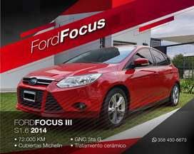 Ford Focus III S 1.6 2014
