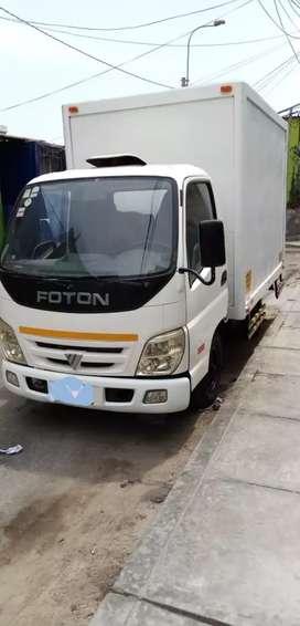 Vendo furgon marca foton 2 toneladas