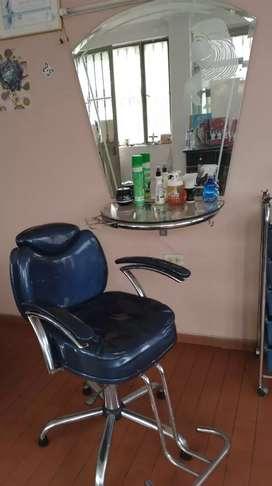Muebles para salon de belleza usados