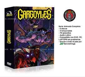 Gargolas Serie Animada Completa Gargoyles