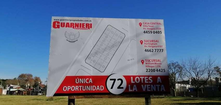 Loteo en Hurlingham (Zona Municipalidad) S/AV.Pedro Diaz y Risso 0