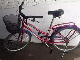 Vendo bicicleta rodado 24 casi nueva