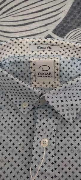 Camisa Oscar de la renta original talla M classic fit