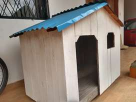 Casa grande para perro