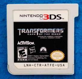 Transformers Dark of the Moon para nintendo 3DS
