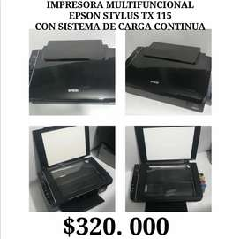 Vendo impresora multifuncional