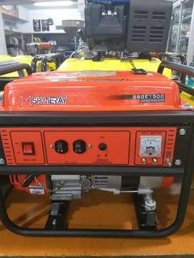 GENERADOR DE LUZ 1000W (1KVA) 110V A GASOLINA SHINERAY SRGE1500