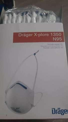 Mascarilla respirador contra partículas N95