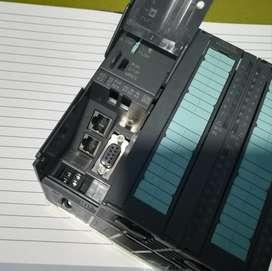 PLC Siemens CPU 314C 2PN DP última versión Step 7 y TIA