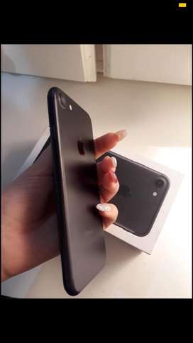 Iphone 7 128gb negro matte impecable