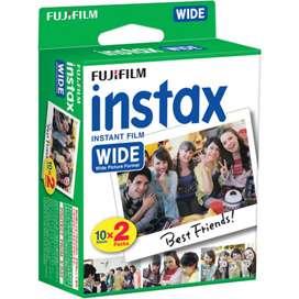 Películas Fujifilm Instax wide