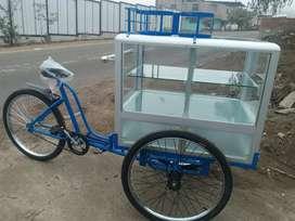 Triciclo pastelero