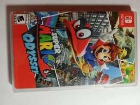 Súper Mario Odessey Nintendo switch