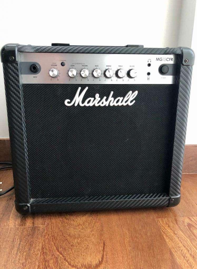 Amplificador de Guitarra Marshall MG15CF 15W 0
