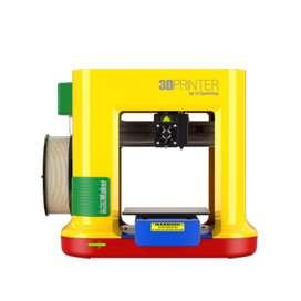 Impresora 3D Da Vinci mini maker + 3 Carretes de filamentos