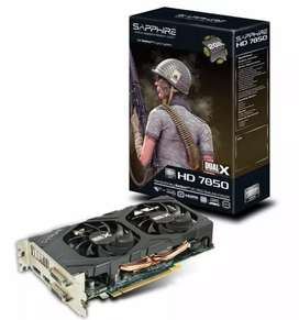 Placa de video Sapphire Radeon 7850 2gb gdrr5