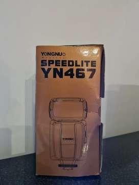 Flash Yongnuo YN467 TTL Speedlite Canon - Impecable