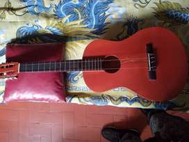 Guitarra elaborada en cedro