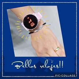 Lindos relojes para mujer, buen precio
