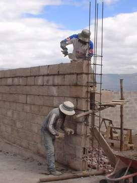 Se realizan trabajos de Construccion a bajos precios