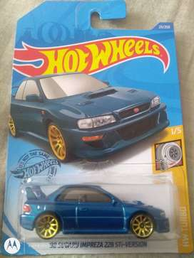 Hot wheels Subaru