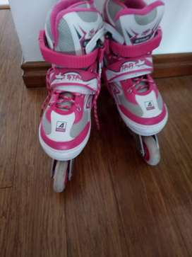 Patines Barbie