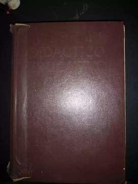 Diccionario lengua castellana ilustrado de 1400 páginas