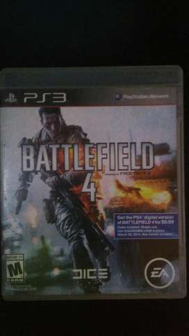 Battlefield 4 Ps3 Play 3 Excelente Estado Ps3 Play 3 Vendo O Cambio
