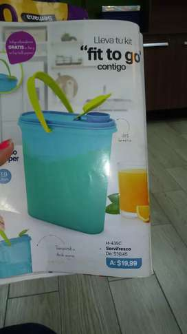Hermosos productos tapperware pidelo