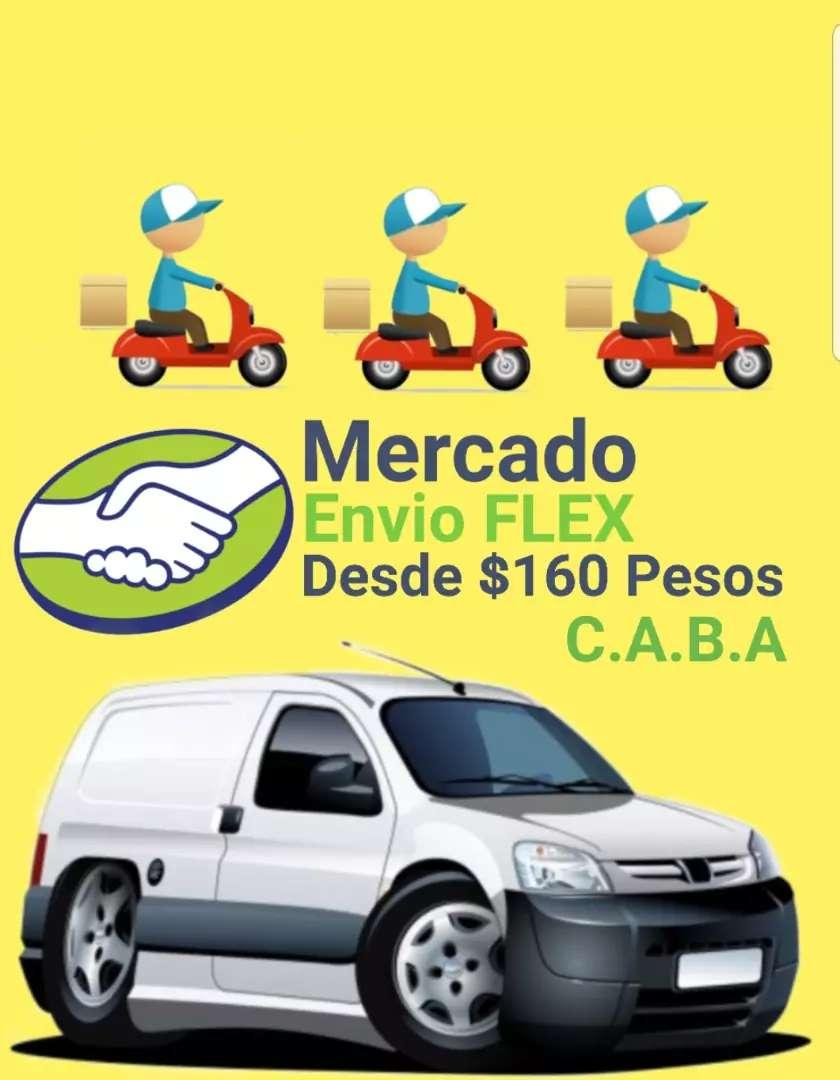 Mini Flete & Envio Flex zona Barracas, La Boca, Parque Patricio. 0