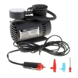Mini compresor aire  llantas carro