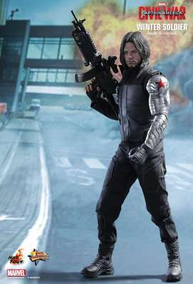 Figura Hot Toys Winter Soldier ( Bucky ) Escala 1/6 Civil War